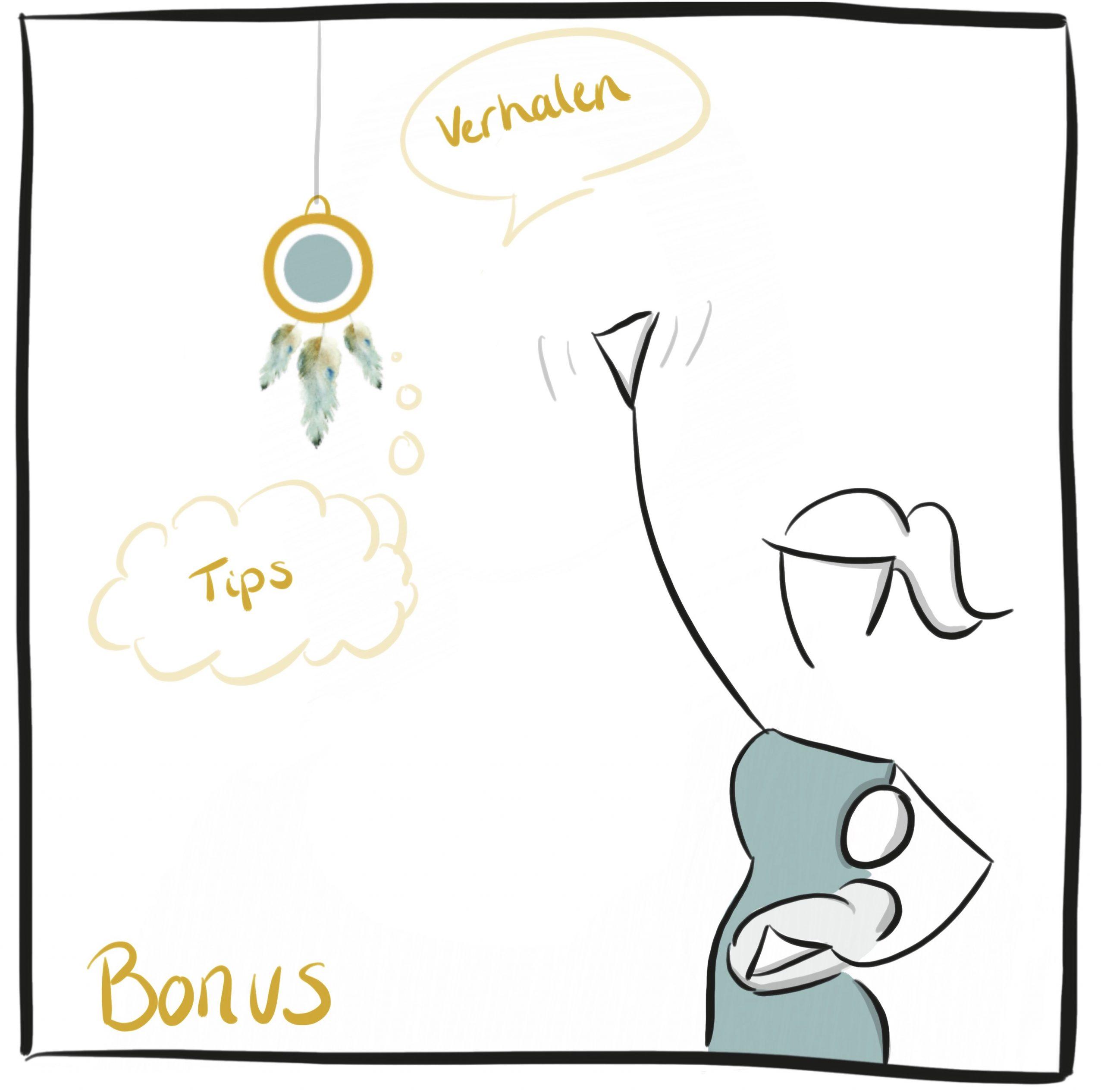 Zakelijke tekening Bonus